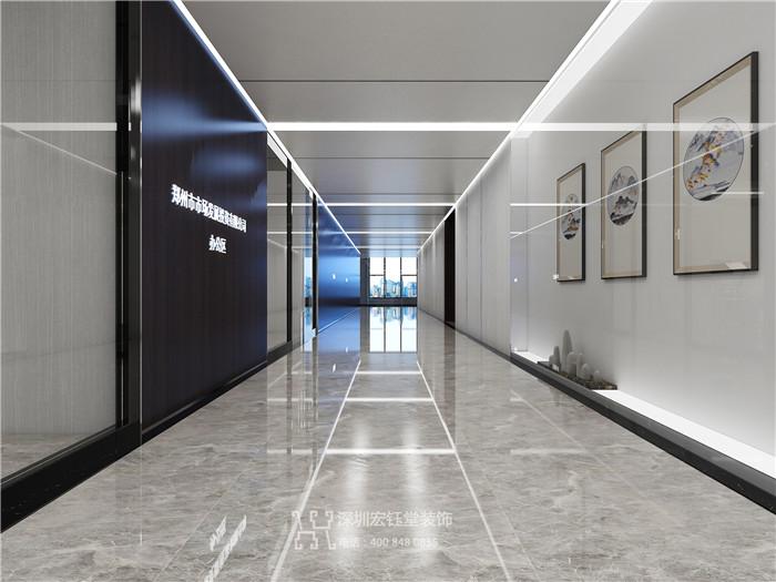 贺宏钰堂签约郑州商业地产整层办公设计施工