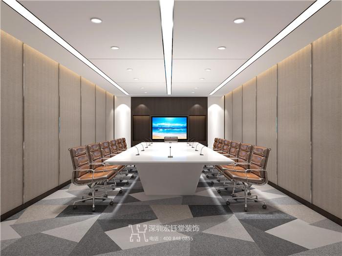 郑州商业地产整层办公设计方案