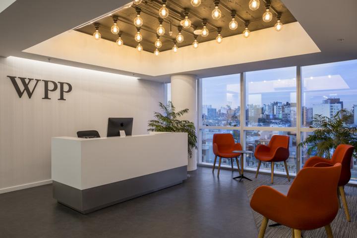 国外传媒公司办公室装修设计方案
