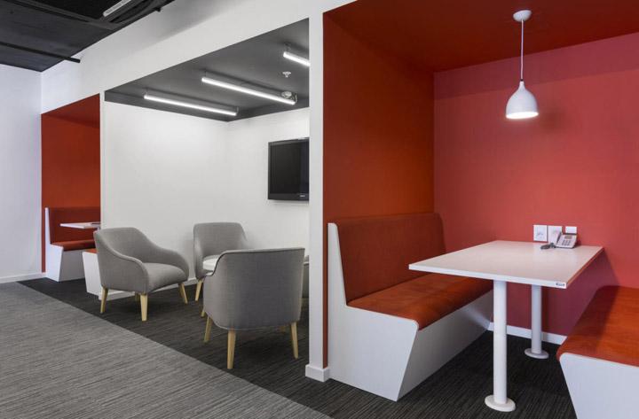 时尚传媒公司办公室休闲区设计方案