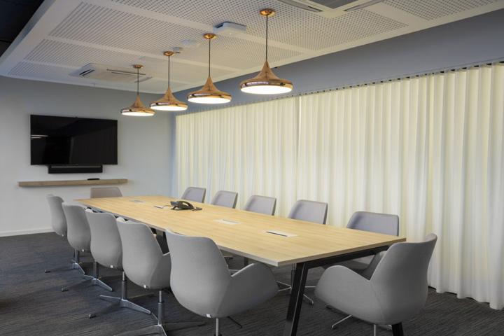 简约办公室会议室装修设计图