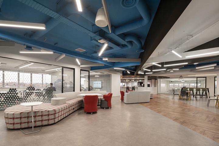 Autodesk高效率现代风软件公司办公室装修设计方案