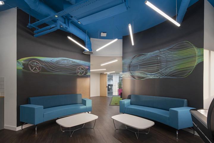 软件公司办公室接待区设计方案