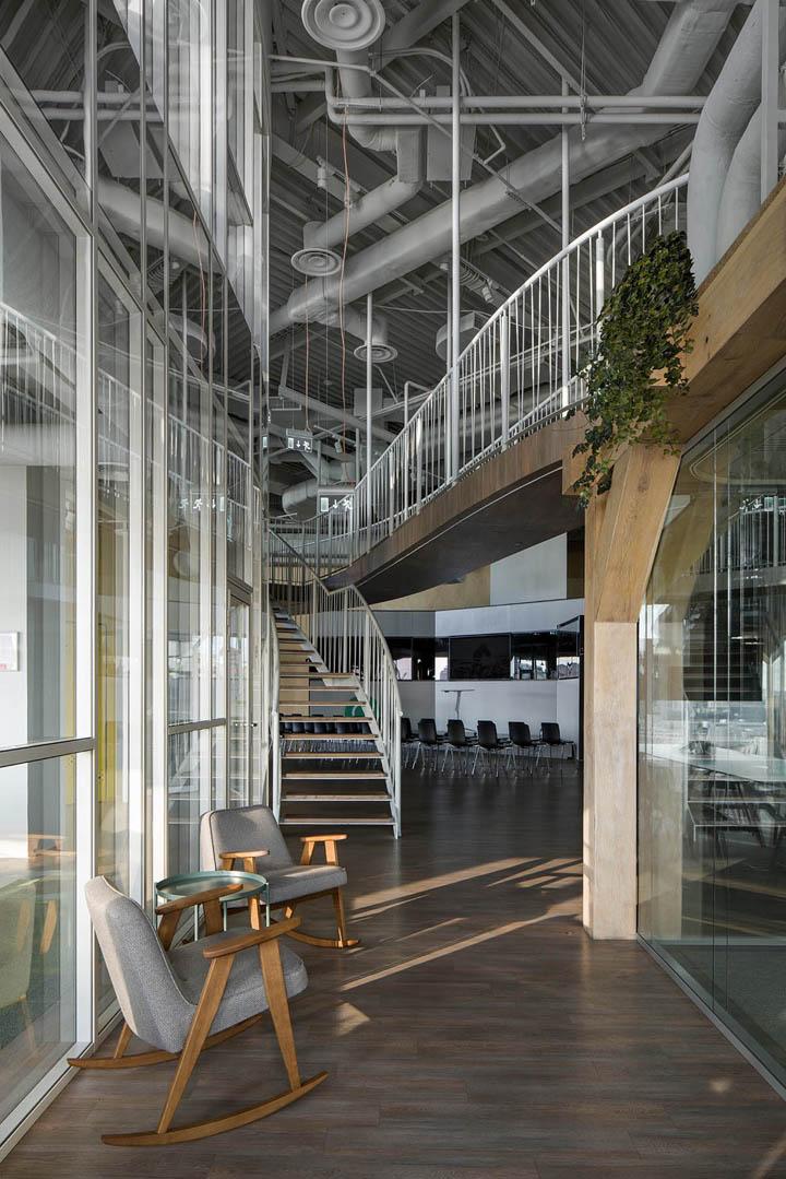 环保工业风办公室装修设计方案