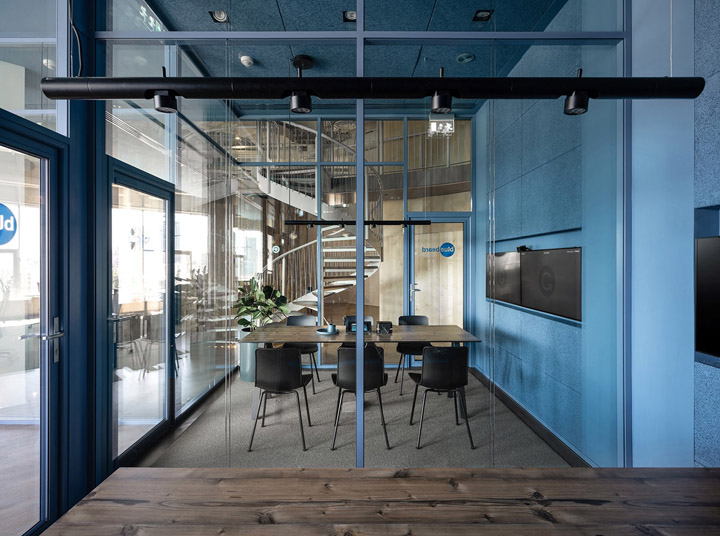 最富有自然气息的软件公司办公室改造设计案例
