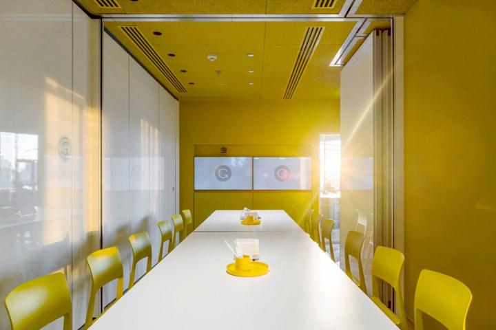 国外软件公司会议室设计效果图