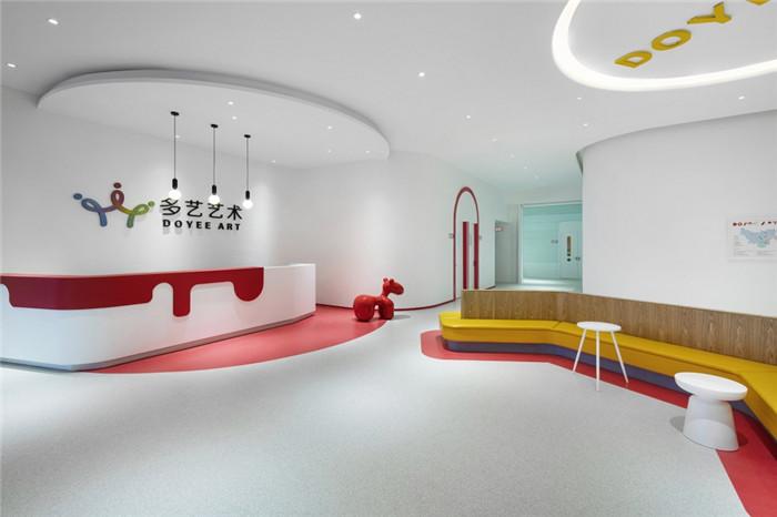 儿童艺术教学空间设计 多艺少儿艺术培训中心装修方案