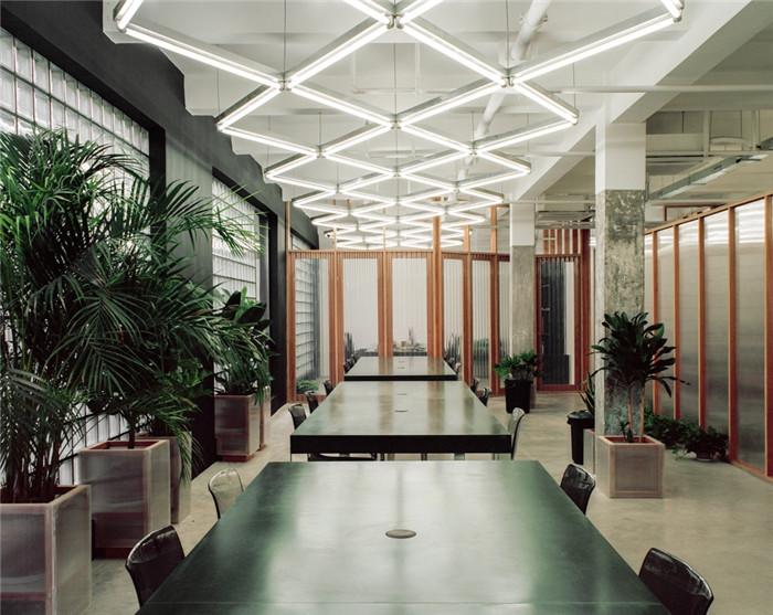 培训学校办公设计  w国际艺术教育中心办公室装修案例