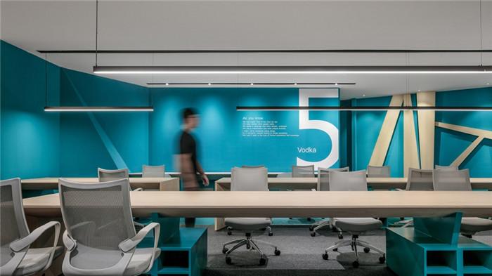 科技公司时尚办公室装修案例