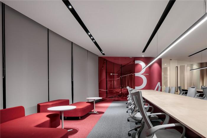 郑州科技公司时尚办公装修方案