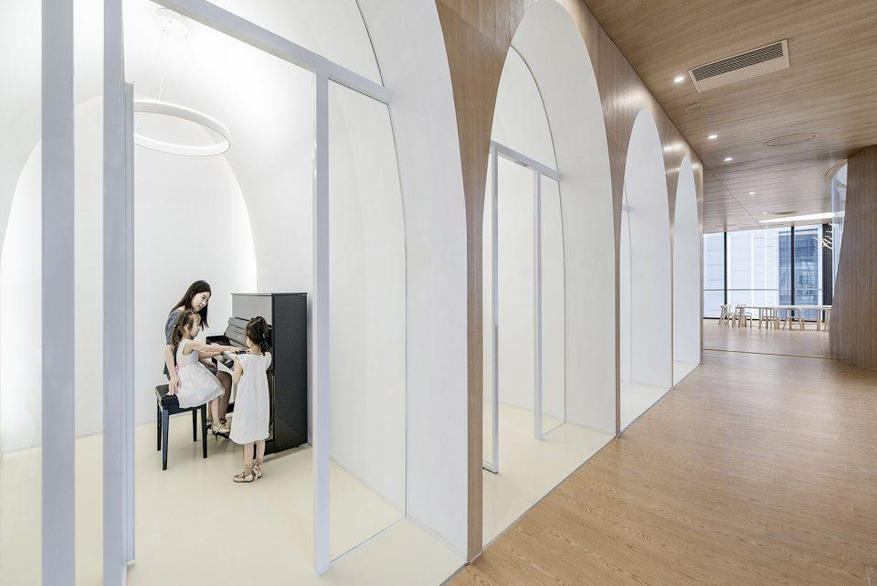 宏钰堂教育机构装修公司推荐WeDo艺术教育机构装修实景图