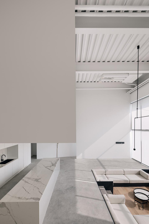 黑白灰极致美感办公设计方案
