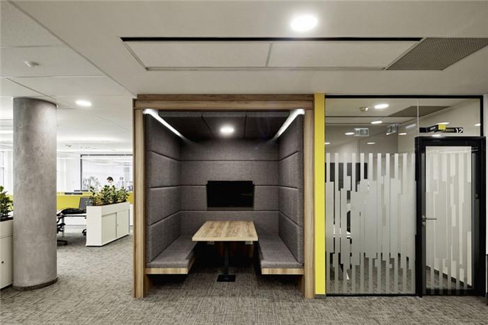 会计事务所办公室休闲区装修方案