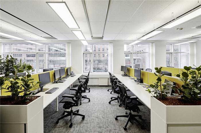 会计事务所敞开办公区装修设计方案