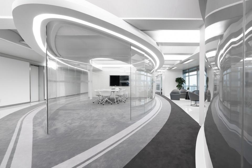 未来时空主题办公室装修设计图