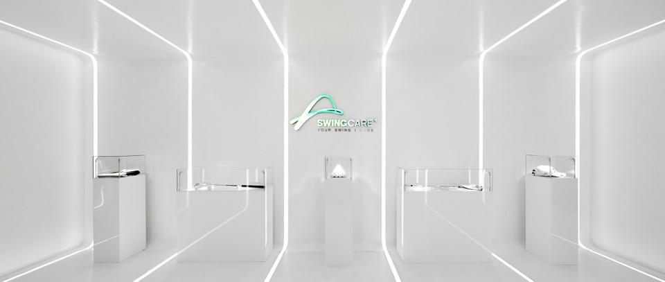 时尚科技风办公室展厅设计方案