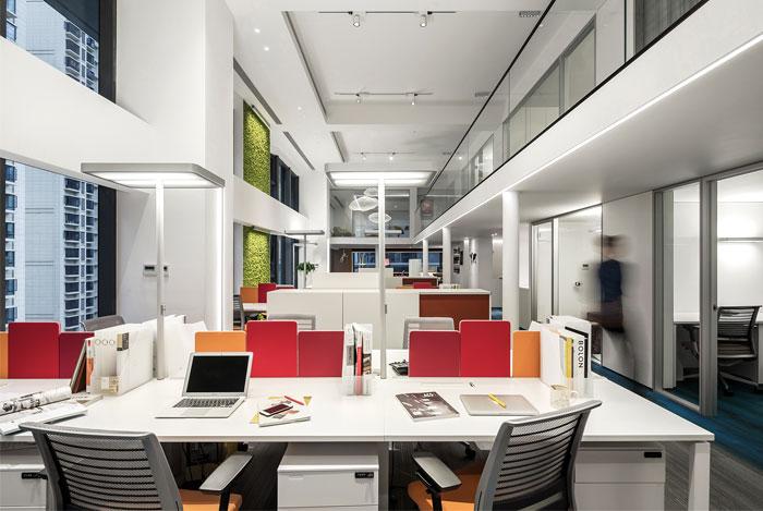格洛伊CROYO时尚开放式办公设计方案