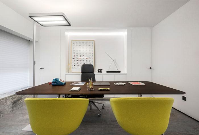 时尚设计公司经理办公室装修设计方案