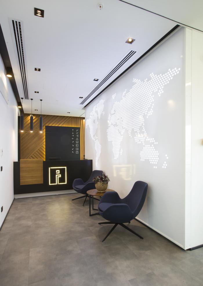 简约又实用的三菱电机分公司办公室装修设计方案
