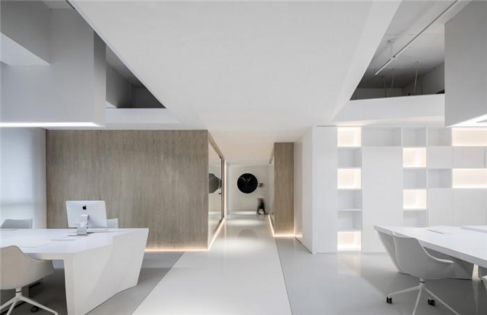实用艺术办公空间   BANMOON服装办公室装修设计方案