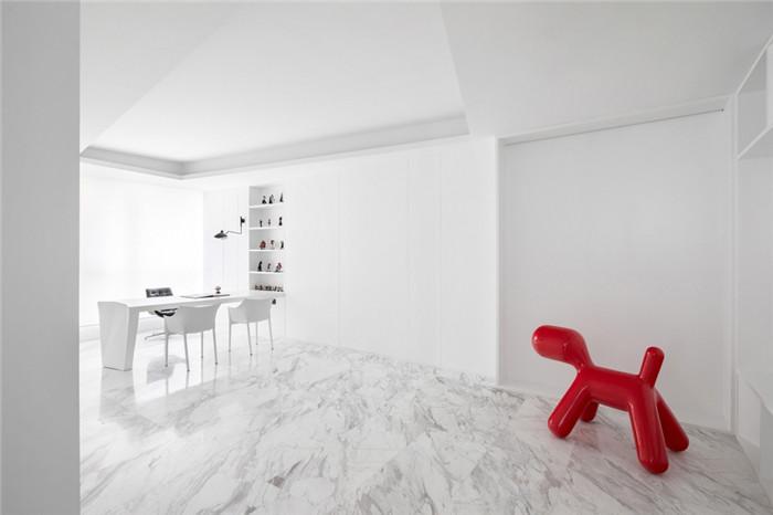 艺术范儿十足的服装公司办公室装修案例