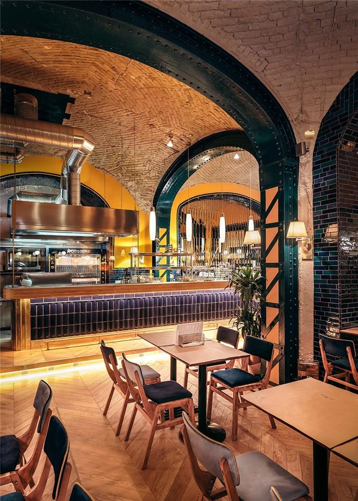 国外特色主题烧烤餐厅装修设计方案