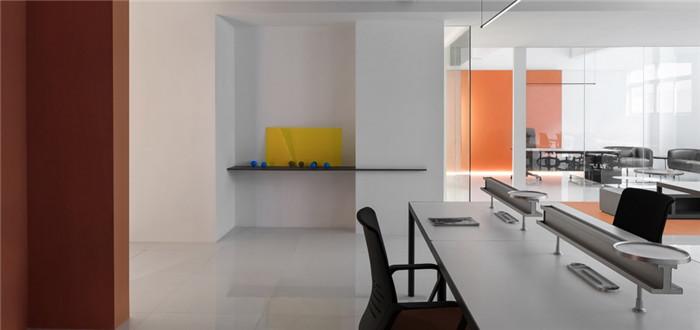 极致简约的200平阿里巴巴分公司办公室装修设计案例